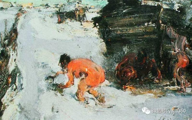 俄裔美籍Nicolai Fechin油画作品插图24
