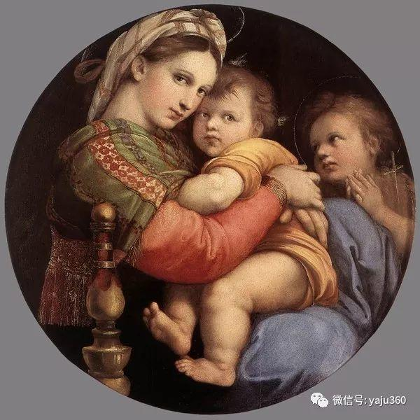 意大利Raphael Sanzio油画作品三插图1