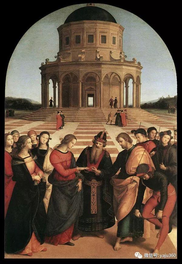 意大利Raphael Sanzio油画作品三插图15