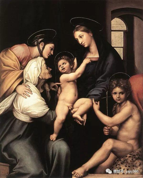 意大利Raphael Sanzio油画作品三插图21