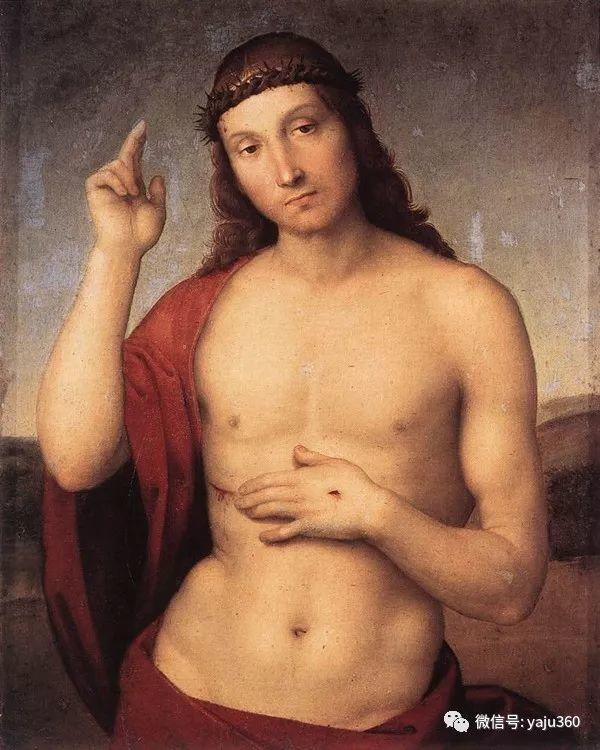 意大利Raphael Sanzio油画作品三插图27
