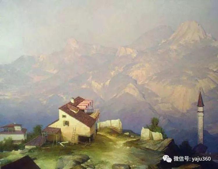俄罗斯风景画大师油画风景插图9