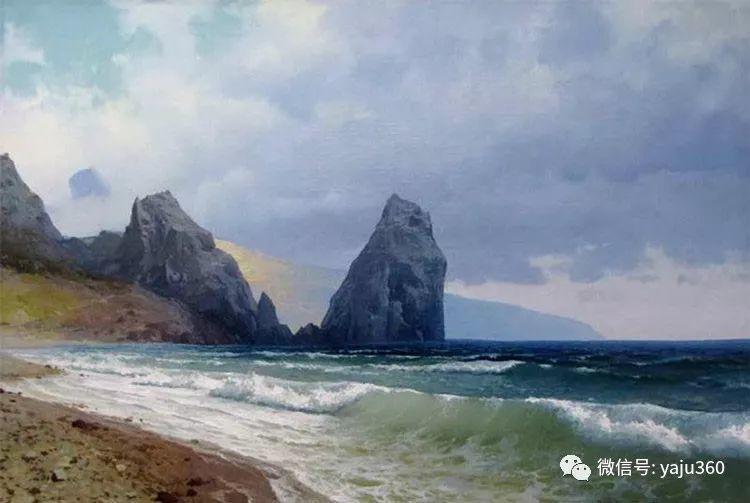 俄罗斯风景画大师油画风景插图19