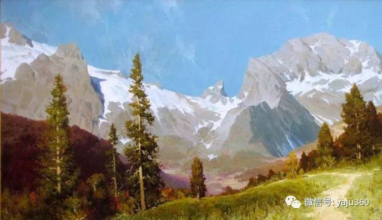 俄罗斯风景画大师油画风景插图31