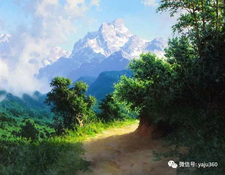 俄罗斯风景画大师油画风景插图33