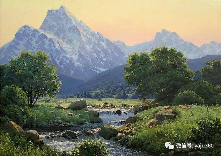 俄罗斯风景画大师油画风景插图35