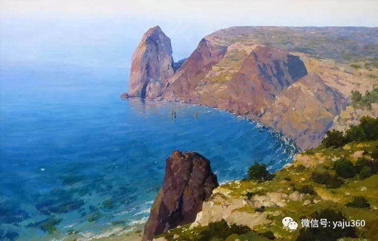 俄罗斯风景画大师油画风景插图39