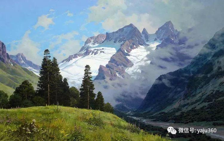 俄罗斯风景画大师油画风景插图45