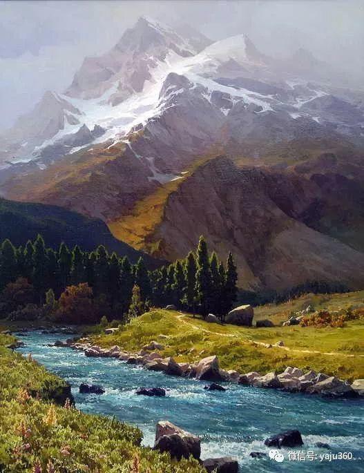 俄罗斯风景画大师油画风景插图49
