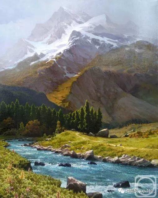 俄罗斯风景画大师油画风景插图55
