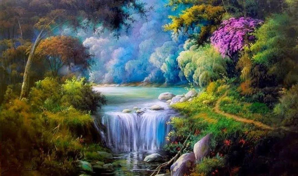 多彩风景,巴西画家Jorge Maciel插图1