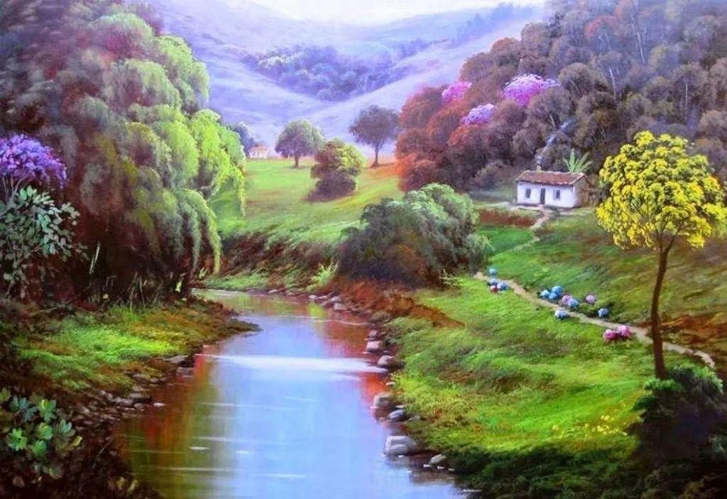 多彩风景,巴西画家Jorge Maciel插图4