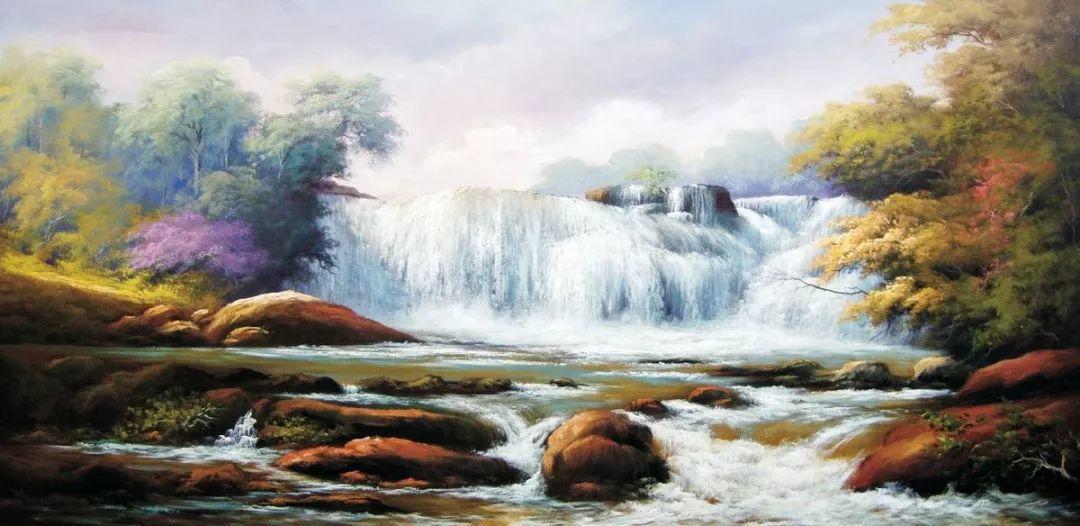 多彩风景,巴西画家Jorge Maciel插图7