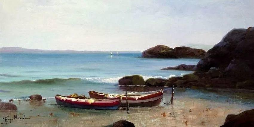 多彩风景,巴西画家Jorge Maciel插图14