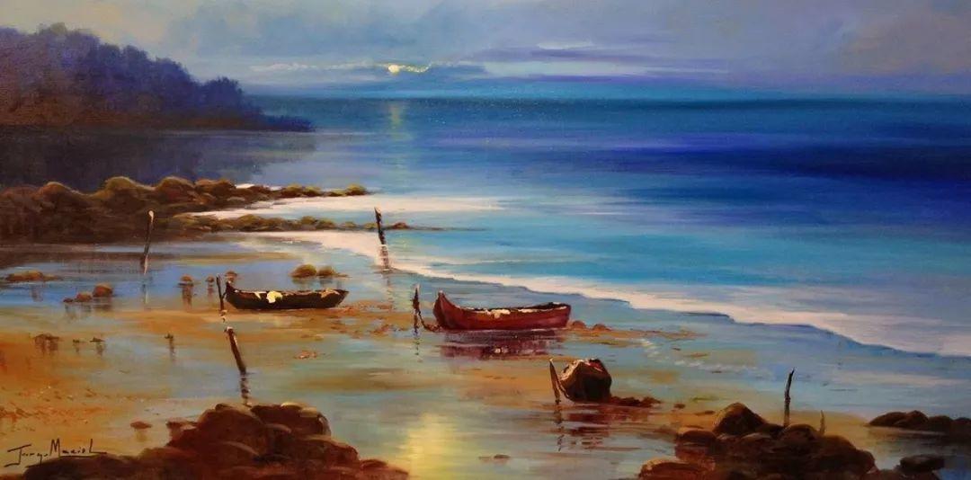 多彩风景,巴西画家Jorge Maciel插图15
