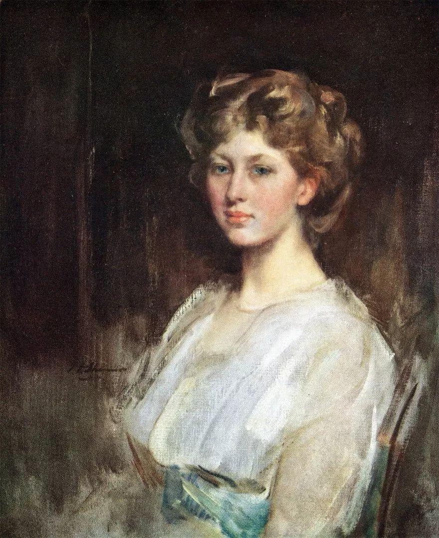 画家笔下苗条的女子,美丽优雅!英裔美国画家James Jebusa Shannon插图3
