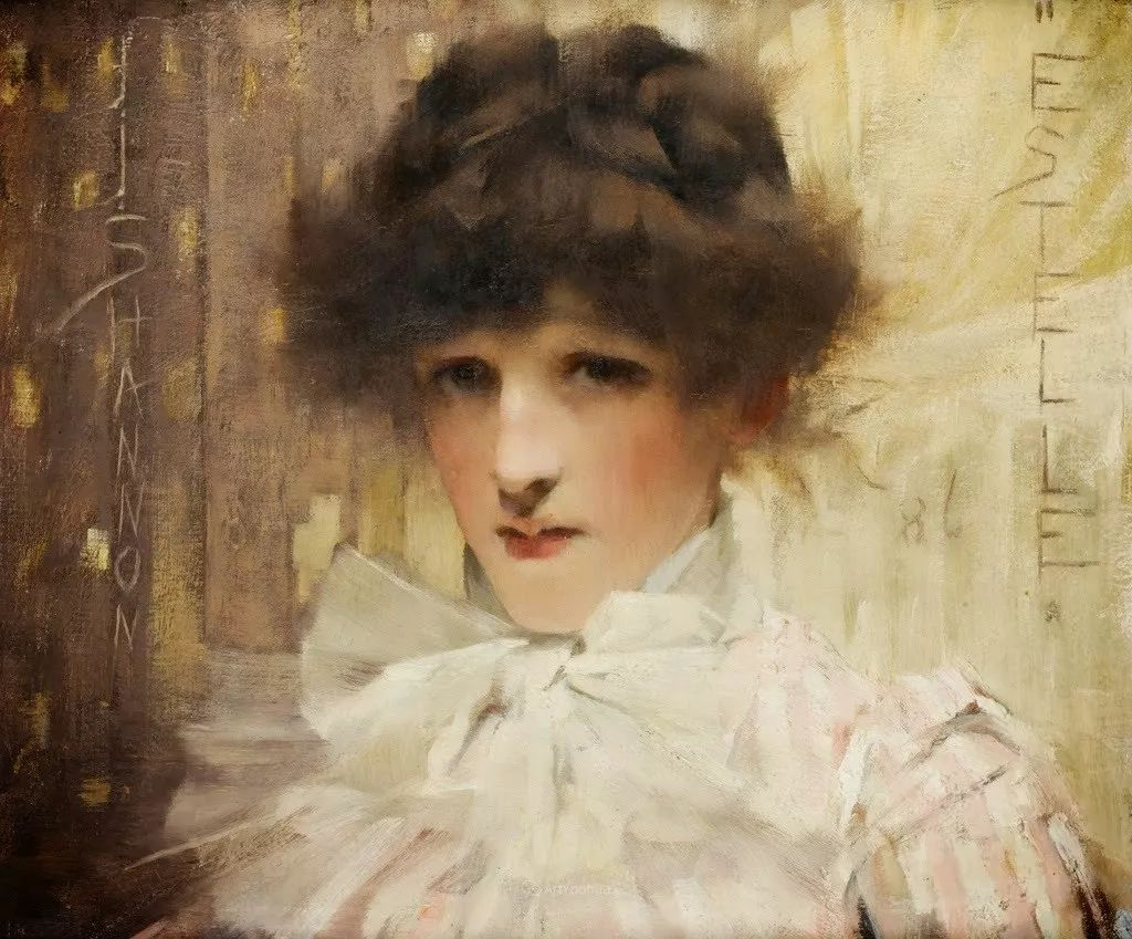 画家笔下苗条的女子,美丽优雅!英裔美国画家James Jebusa Shannon插图25