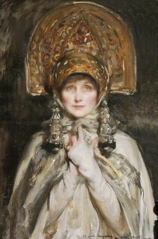 画家笔下苗条的女子,美丽优雅!英裔美国画家James Jebusa Shannon插图33