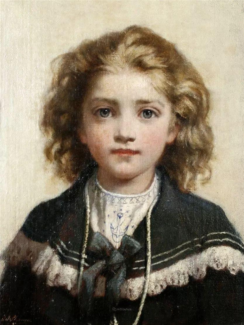 画家笔下苗条的女子,美丽优雅!英裔美国画家James Jebusa Shannon插图35