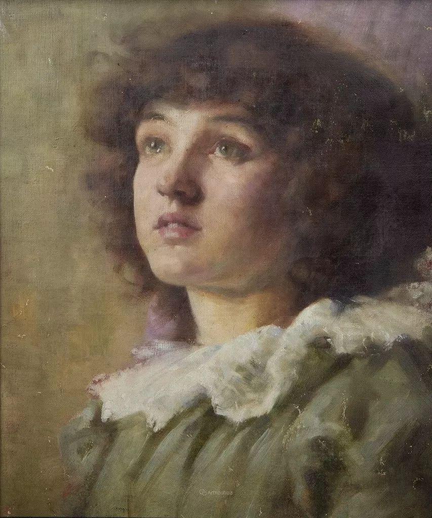 画家笔下苗条的女子,美丽优雅!英裔美国画家James Jebusa Shannon插图36