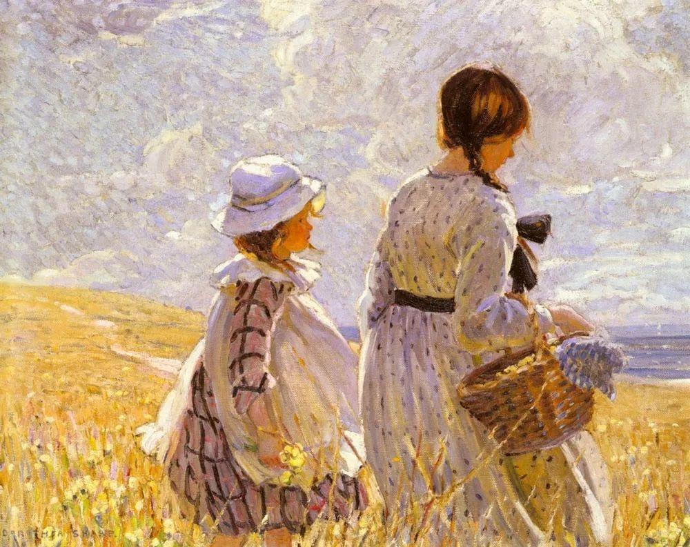 画家笔下苗条的女子,美丽优雅!英裔美国画家James Jebusa Shannon插图49