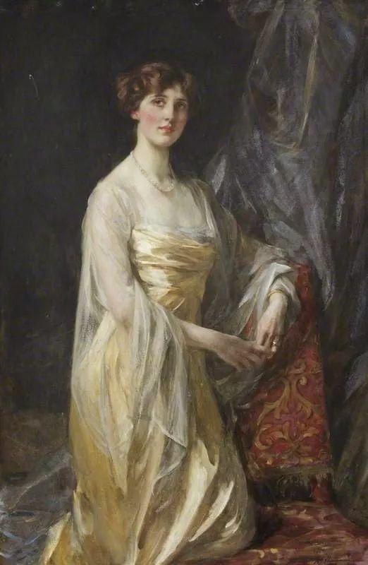 画家笔下苗条的女子,美丽优雅!英裔美国画家James Jebusa Shannon插图54