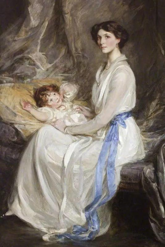 画家笔下苗条的女子,美丽优雅!英裔美国画家James Jebusa Shannon插图55