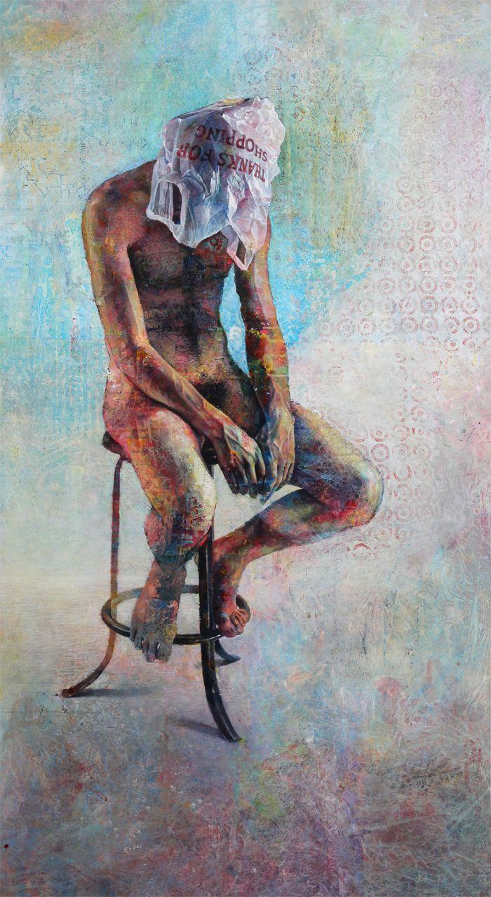 厚重笔触下的缤纷色彩,英国画家David Agenjo插图3
