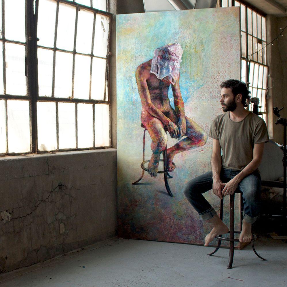 厚重笔触下的缤纷色彩,英国画家David Agenjo插图4