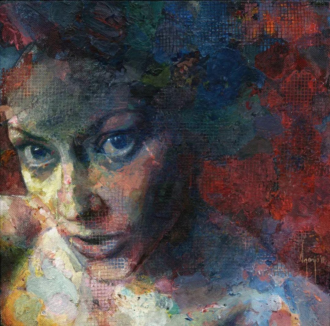 厚重笔触下的缤纷色彩,英国画家David Agenjo插图5