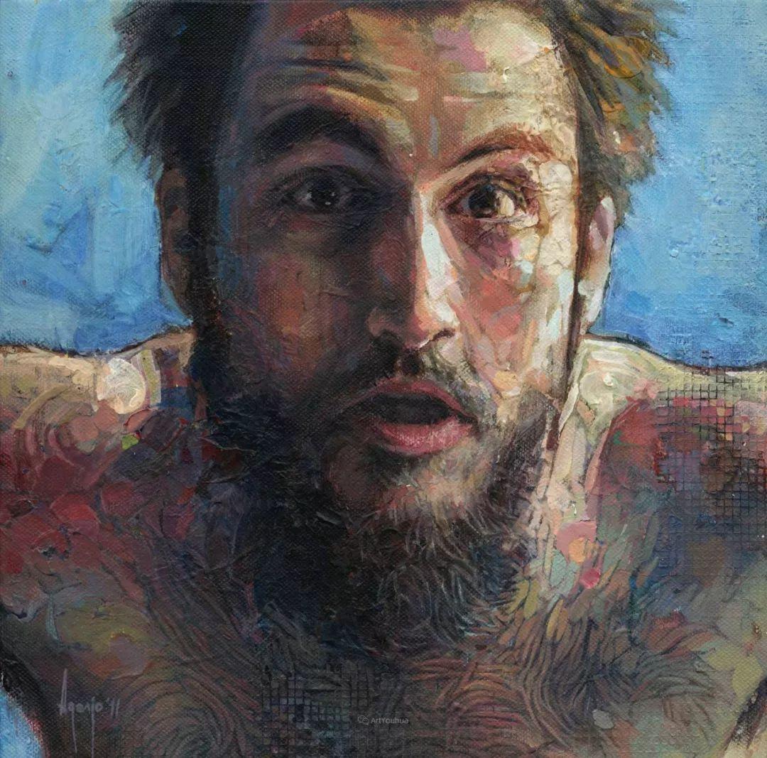 厚重笔触下的缤纷色彩,英国画家David Agenjo插图6