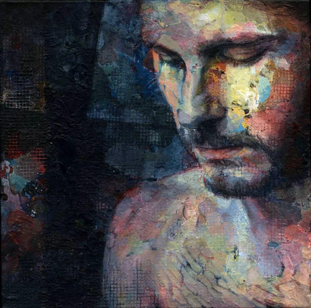 厚重笔触下的缤纷色彩,英国画家David Agenjo插图7