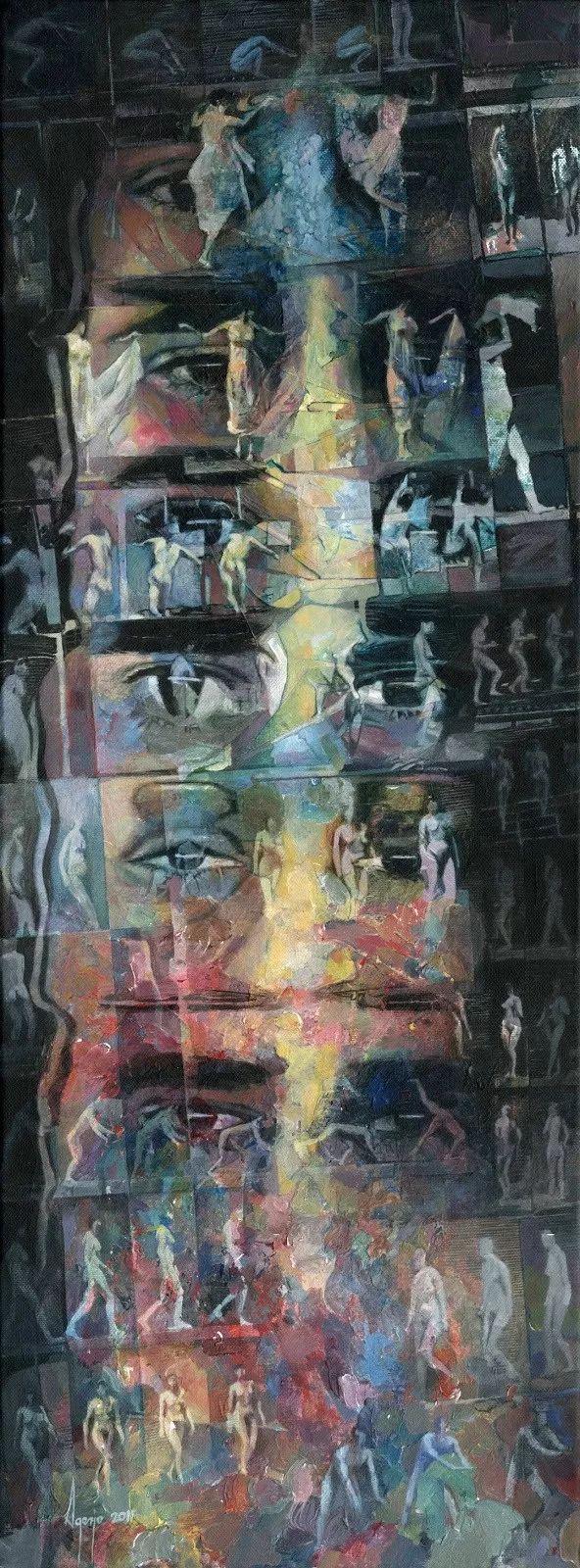 厚重笔触下的缤纷色彩,英国画家David Agenjo插图8