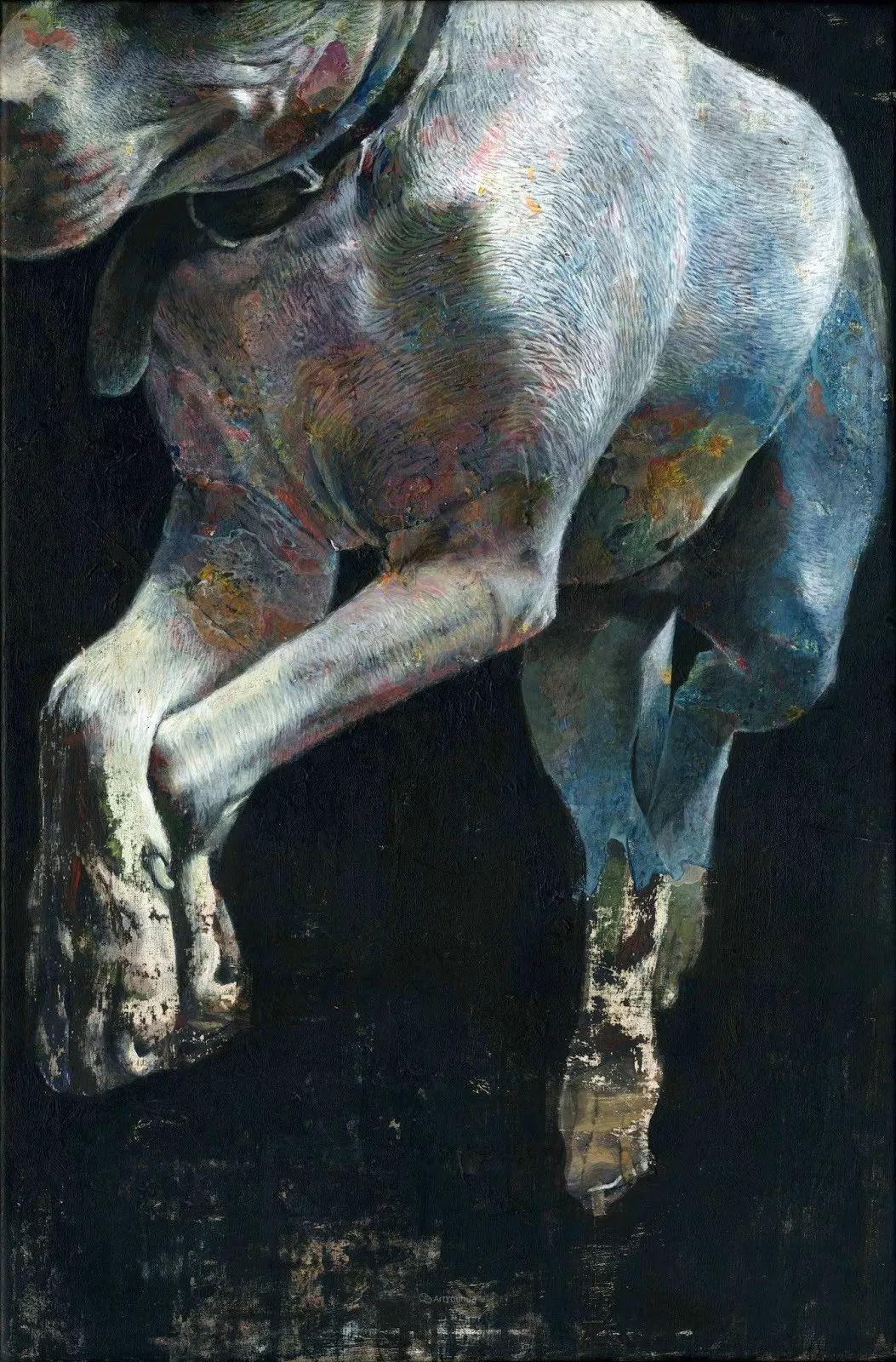 厚重笔触下的缤纷色彩,英国画家David Agenjo插图9
