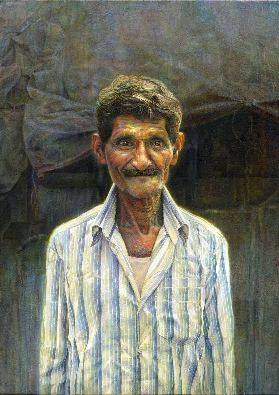厚重笔触下的缤纷色彩,英国画家David Agenjo插图18