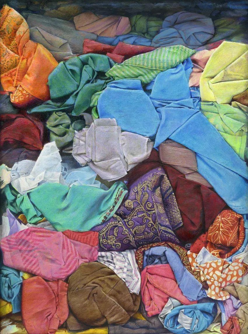 厚重笔触下的缤纷色彩,英国画家David Agenjo插图21