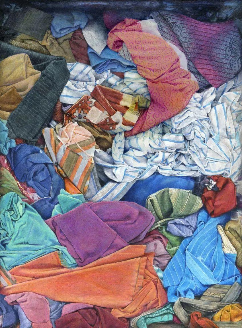 厚重笔触下的缤纷色彩,英国画家David Agenjo插图22