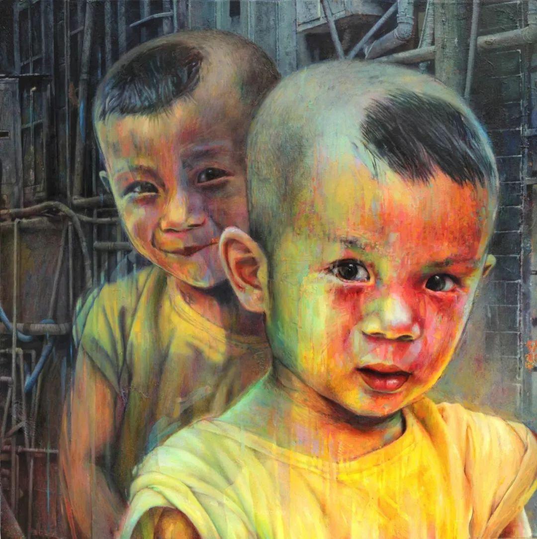 厚重笔触下的缤纷色彩,英国画家David Agenjo插图26
