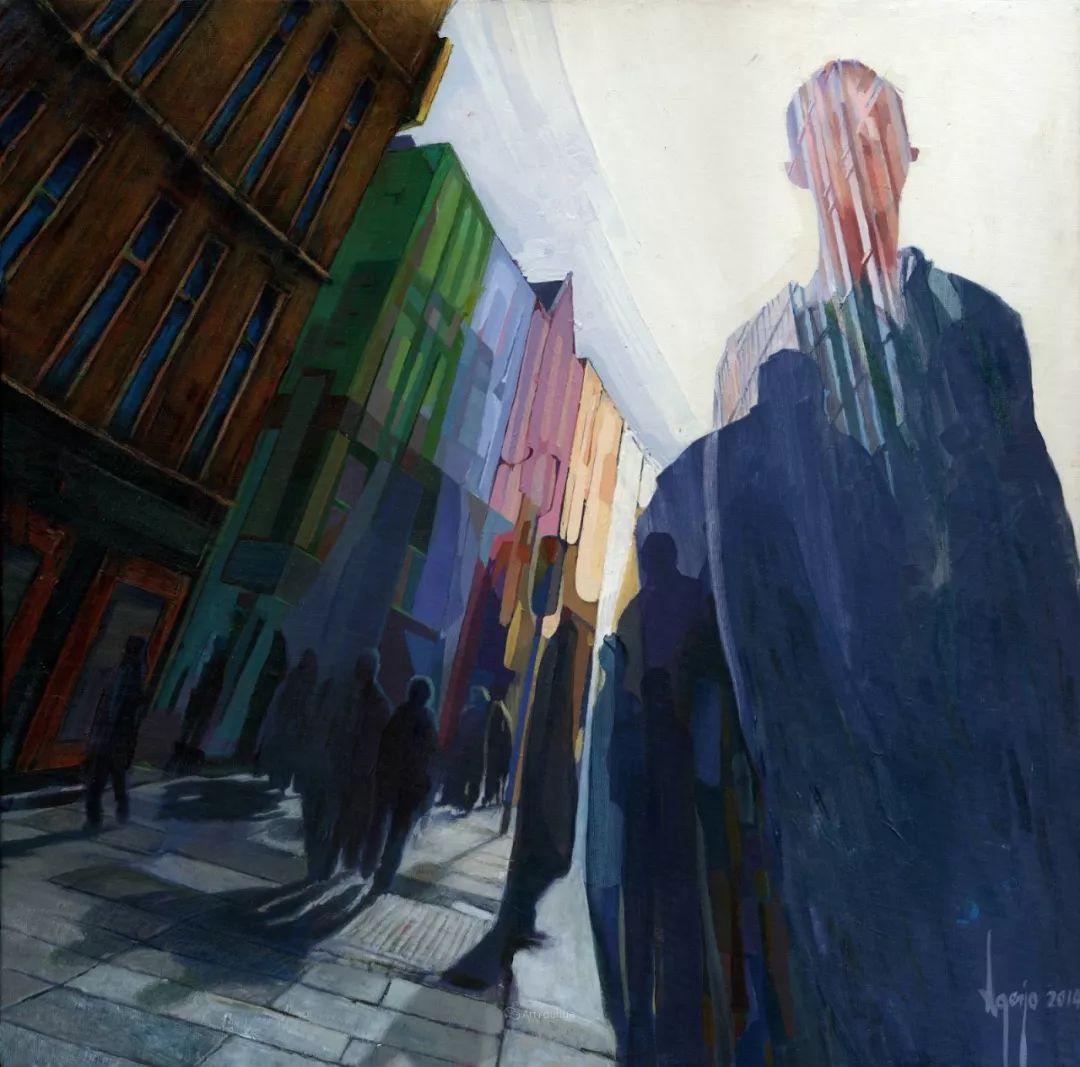 厚重笔触下的缤纷色彩,英国画家David Agenjo插图30