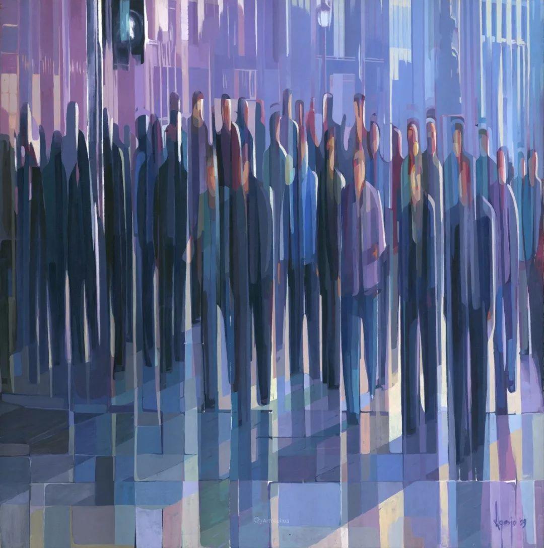 厚重笔触下的缤纷色彩,英国画家David Agenjo插图31