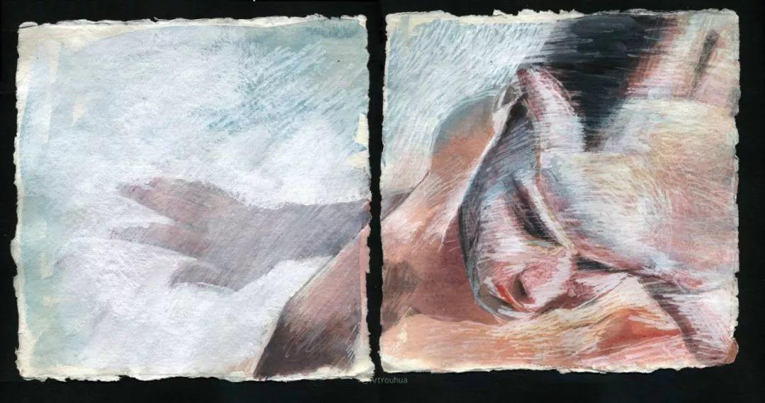 厚重笔触下的缤纷色彩,英国画家David Agenjo插图32