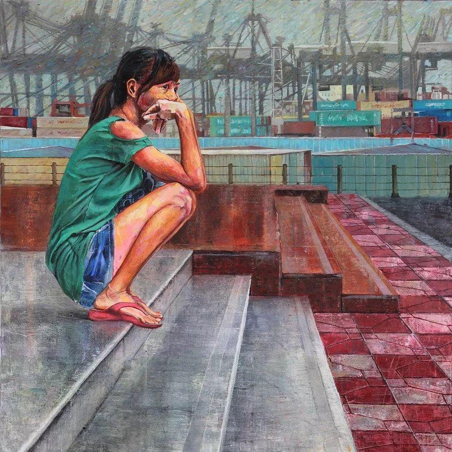 厚重笔触下的缤纷色彩,英国画家David Agenjo插图34