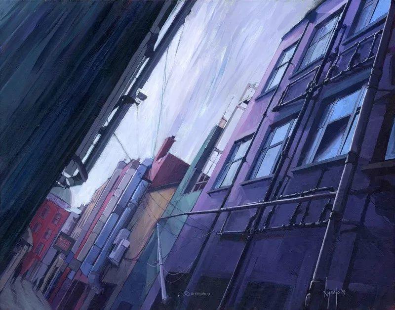 厚重笔触下的缤纷色彩,英国画家David Agenjo插图35