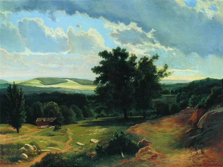 写实风景,乌克兰画家Vladimir Donatovich Orlovsky作品二插图