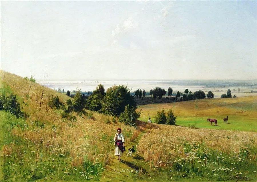 写实风景,乌克兰画家Vladimir Donatovich Orlovsky作品二插图2