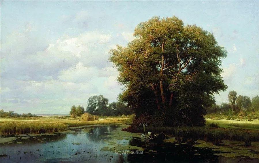 写实风景,乌克兰画家Vladimir Donatovich Orlovsky作品二插图13