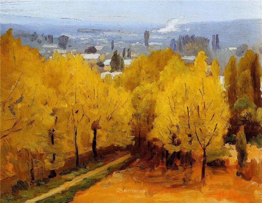 写实风景,乌克兰画家Vladimir Donatovich Orlovsky作品二插图8