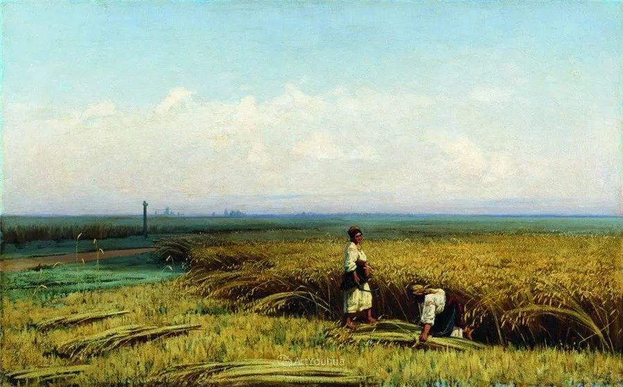 写实风景,乌克兰画家Vladimir Donatovich Orlovsky作品二插图9