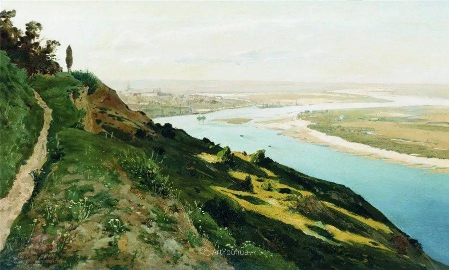 写实风景,乌克兰画家Vladimir Donatovich Orlovsky作品二插图10
