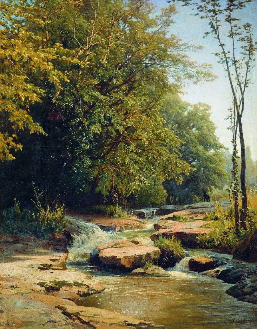 写实风景,乌克兰画家Vladimir Donatovich Orlovsky作品二插图23